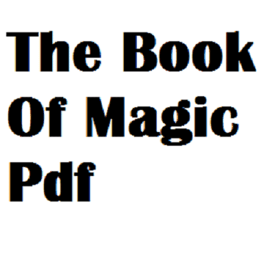 The Book Of Magic Pdf