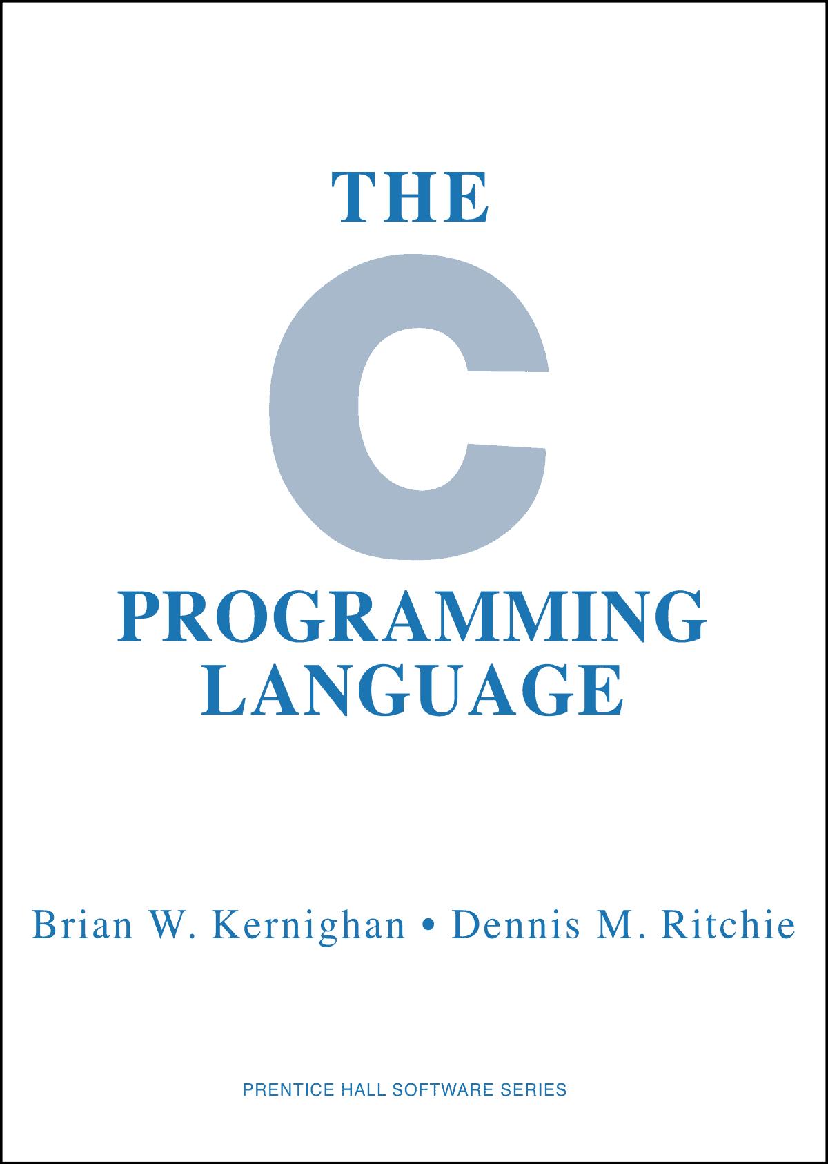 C Programming Language pdf