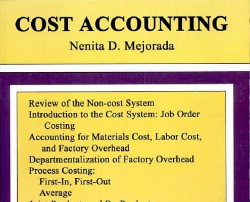 Cost Accounting pdf By Nenita D. Mejorada
