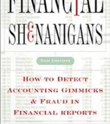 Financial Shenanigans Pdf