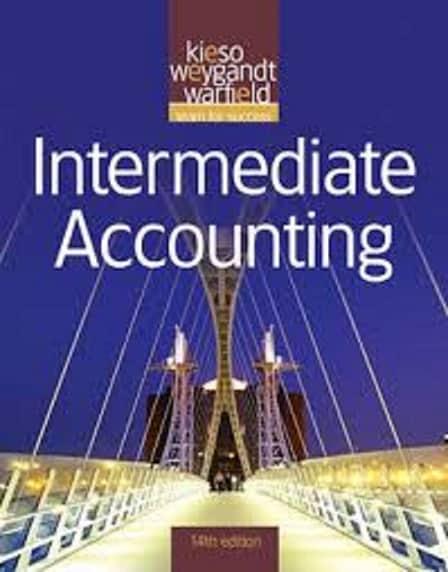 Intermediate Accounting Pdf