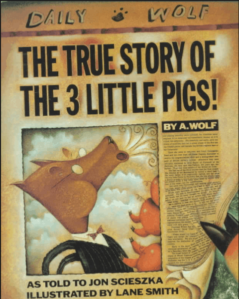 The True Story of the 3 Little Pigs! PDF