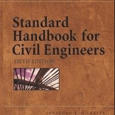 Standard Handbook for Civil Engineers PDF