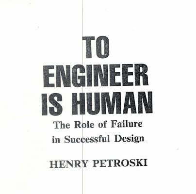 To Engineer is Human PDF
