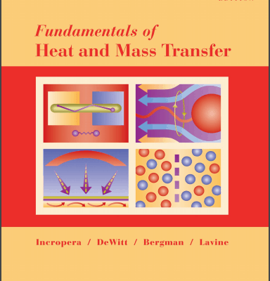 Fundamentals of Heat and Mass Transfer PDF
