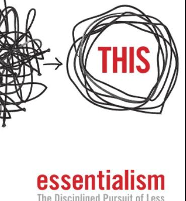 Essentialism Pdf