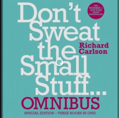 Don't Sweat the Small Stuff Pdf